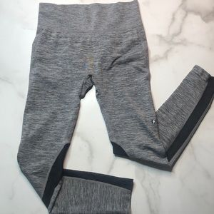 Electric Yoga Gray Leggings With Mesh Panels